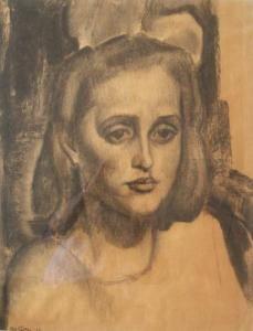 Potret Van Een Joods Meisje van Gestel, Leo