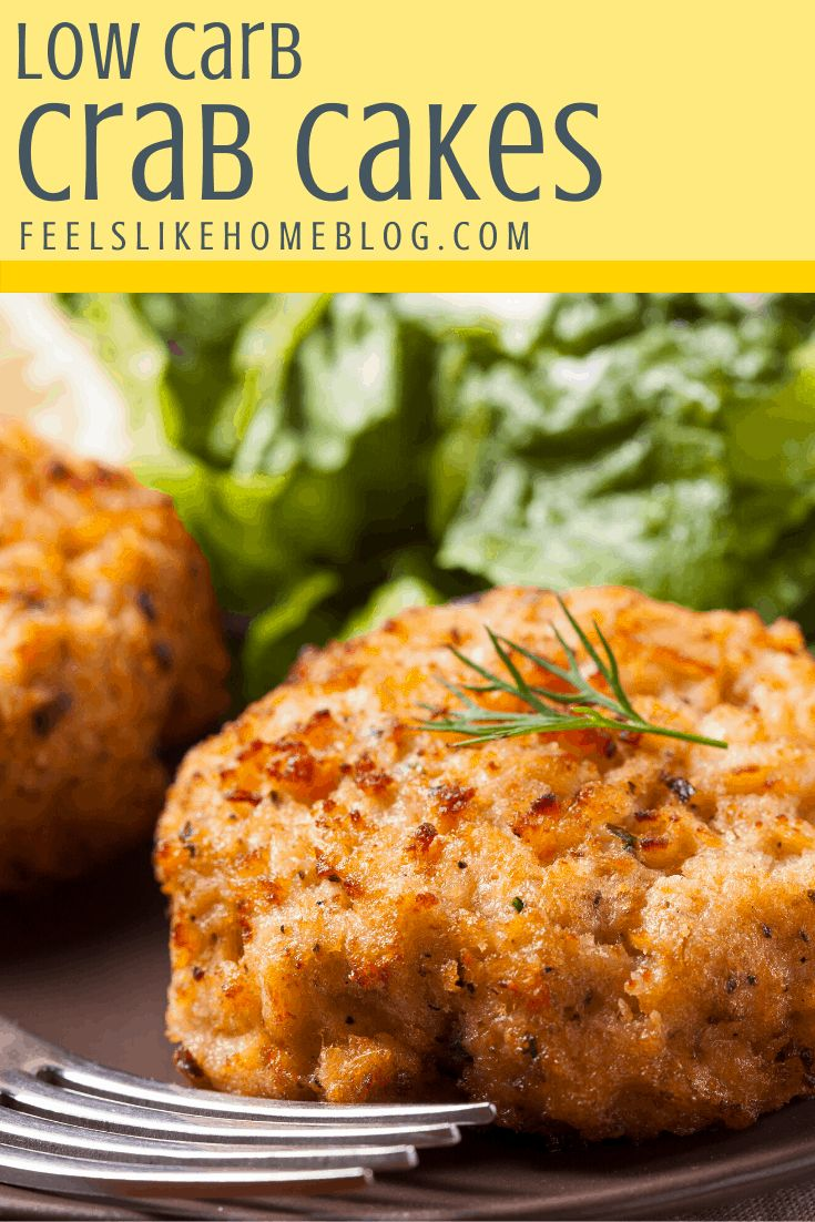 How To Cook The Best Simple And Easy Low Carb Crab Cakes Recipe These Baked Marylan Easy