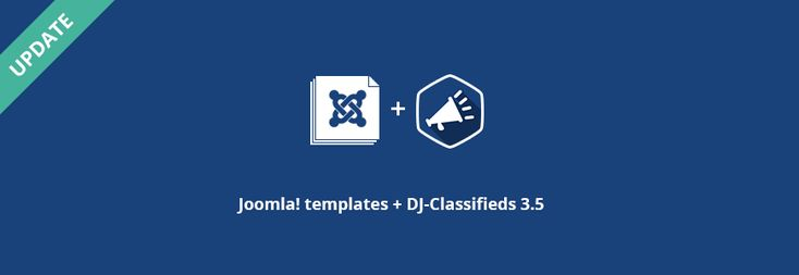 Joomla classifieds templates were just updated to DJ-Classifieds 3.5 #djclassifieds #classifieds #Joomla #template