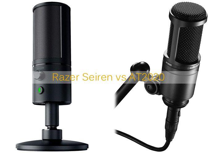 Razer Seiren Vs At2020 Razer Digital Sound Microphones