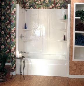 two piece shower tub unit. One Piece Tub Shower Unit Bathrooms Pinterest Two  Home Design Forkfetish Us