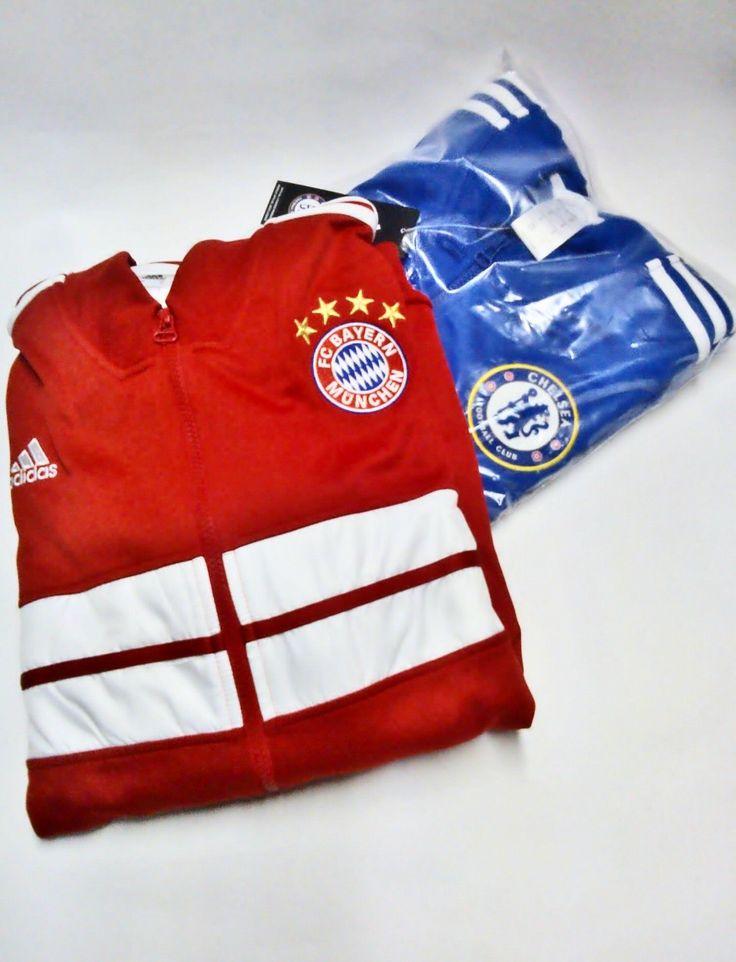 chaquetas de la champions ligue bayer munich y chelsea fc a tan solo 190.000