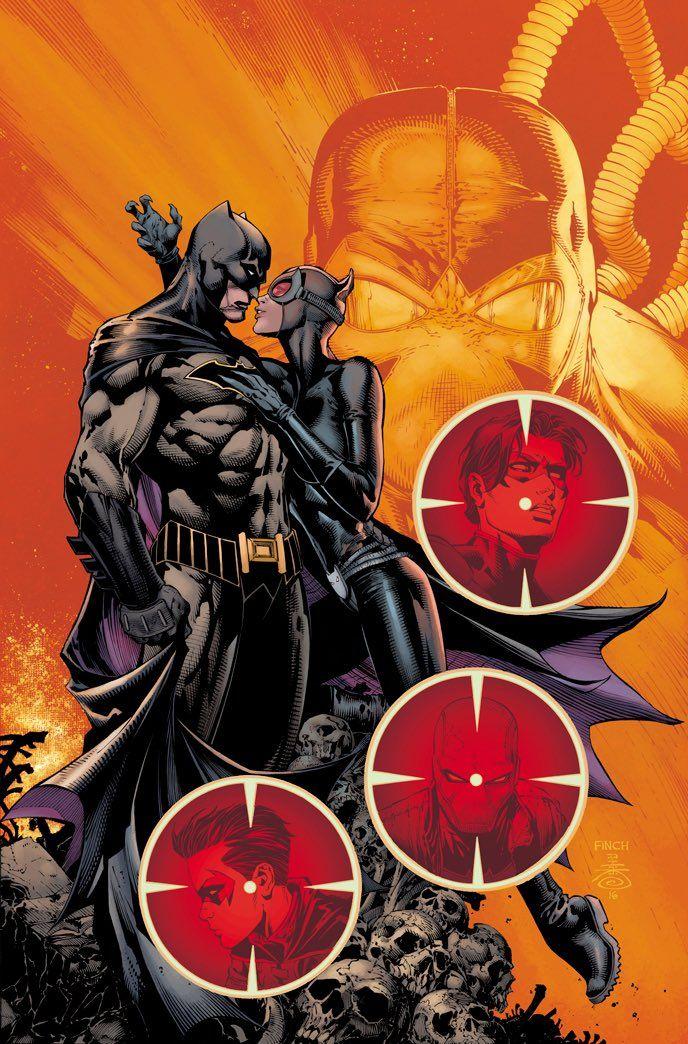 Batman #17 cover by David Finch