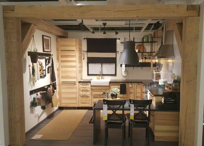 METOD kitchen with TORHAMN fronts, IKEA in Haarlem, Noord-Holland
