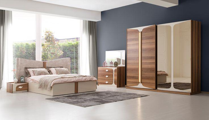 Kelebek Modern Yatak Odası Takımı
