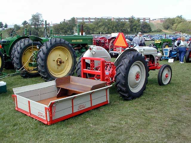 Re 3 Pt Carry All Frame Ford Tractors Tractor