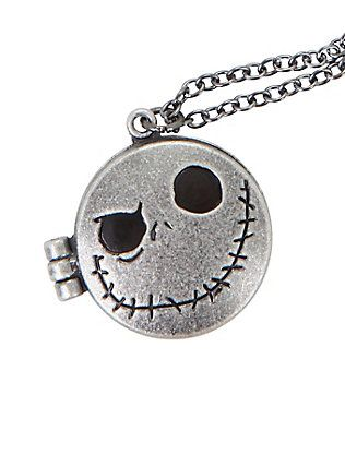 The Nightmare Before Christmas Pumpkin King Locket, , hi-res