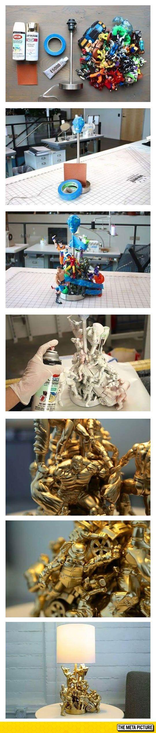 Cómo crear un super héroe de la lámpara