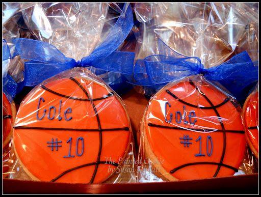 basketball cookies-for Christian
