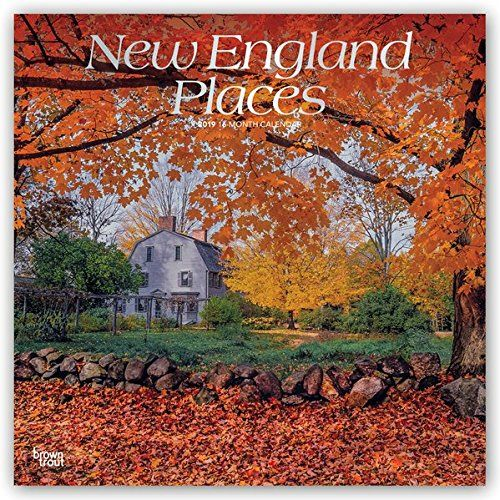 New England Places 2019 Calendar - New England Places 2019 Calendar