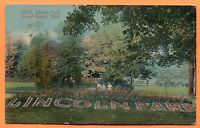 Grand Rapids, MI, Old Postcard View of Lincoln Park, circa 1910s