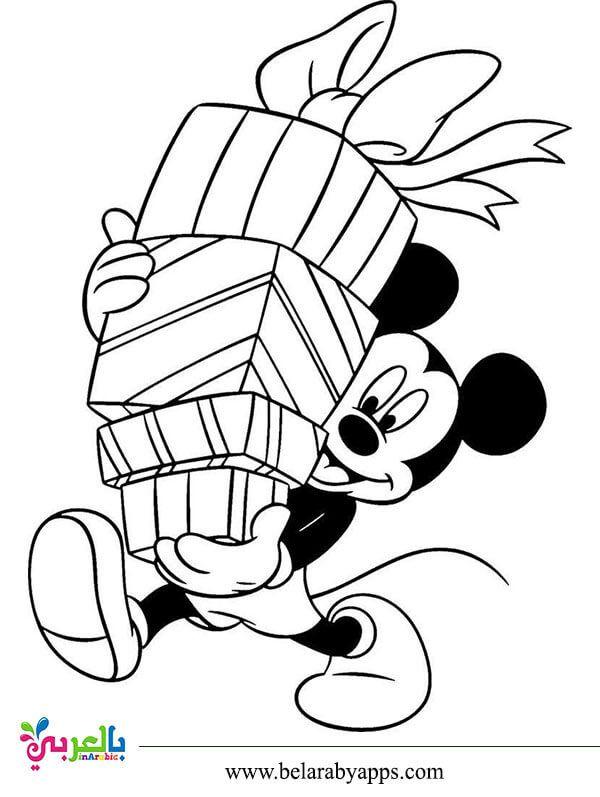 رسومات شخصيات ديزني للتلوين ميكي ماوس بندق بطوط بالعربي نتعلم Mickey Mouse Drawings Minnie Mouse Drawing Mouse Drawing