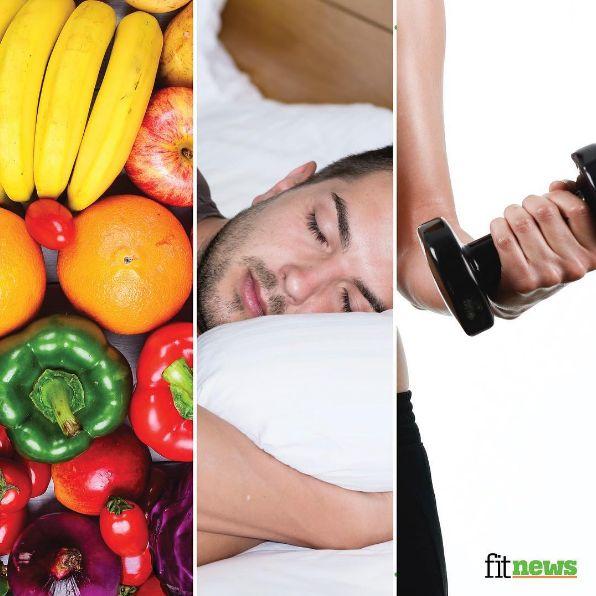 #Sağlıklı bir #yaşam için, Dengeli ve yeterli #beslen, Düzenli uyu, Düzenli fiziksel #aktivite yap ✅🤗 #spor