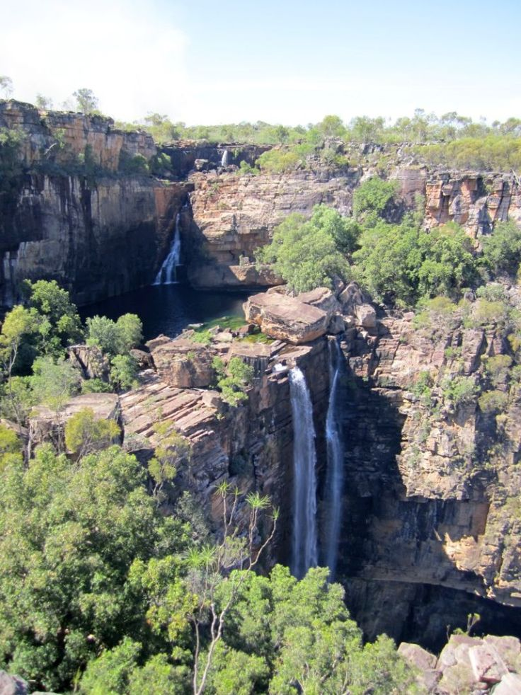 Majestic Jim Jim Falls at Kakadu National Park