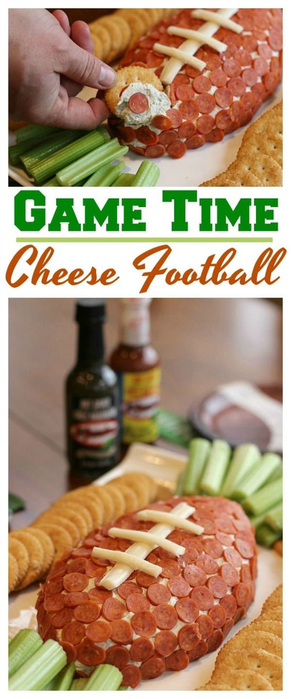 Score a touchdown with our easy-to-make Game Time Cheese Football! Bursting with flavor thanks to the addition of El Yucateco® hot sauce, it's sure to be a hit with every football fan! Get the recipe today! #KingofFlavor #FieldToBottle #ad