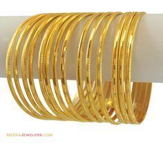 Plain Gold Bangles Indian - http://www.inspirationsofcardiff.com/gold-bangles-designs-2/