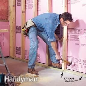 http://www.familyhandyman.com/basement/how-to-finish-a-basement-framing-and-insulating/view-all