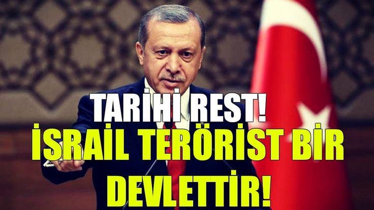 Erdoğan'dan Tarihi Kudüs Resti! | İsrail Bir Terör Devletidir!