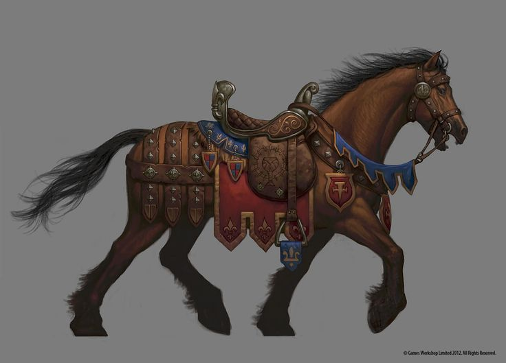 The idea was to create 3 tiers of barding, each more complex and detailed than the last. Description from jimnelsonart.blogspot.com.ar. I searched for this on bing.com/images