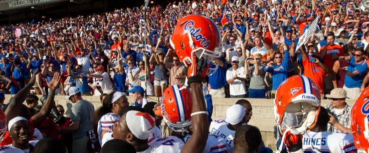 Ready to get to the old Orange & Blue!  Countdown to LSU kickoff begins... 10.04.12