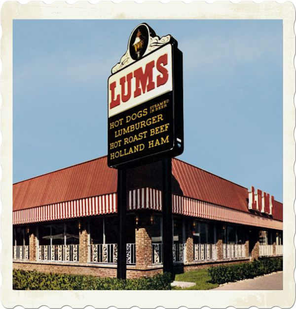 lums restaurants - We used to eat there a lot as kids!