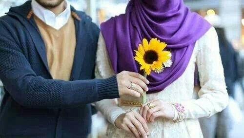 Well cute. Muslim couple #PerfectMuslimWedding.com