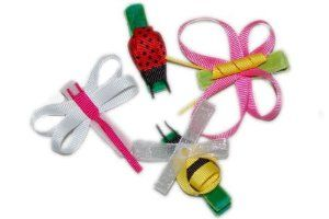 Summer Bug Hair Clips. No-slip Velvet Hair Barrettes. 4-pack. by Bitty Bows Boutique. $24.99. Packaged in a small white jewelry box, great for gift giving.. Adorable for spring and summer, in a rainbow of popular colors.. Luxurious velvet-lined clip provides a great non-slip hold. It is versatile for various amounts of fine hair.. This makes a great birthday gift, party favor, or stocking stuffer!. Handmade with great attention to detail. Each little bug is a cute work of ...
