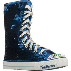 SKECHERS Twinkle Toes: Shuffles - Bizzy Bunch sequin sneaker boots for kids...LUV!!!!