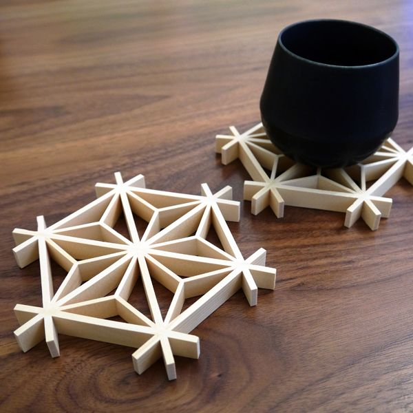 The Mini Kumiko was originally designed as an architectural sample. However, many people admired the beauty of the traditional wood craft be...