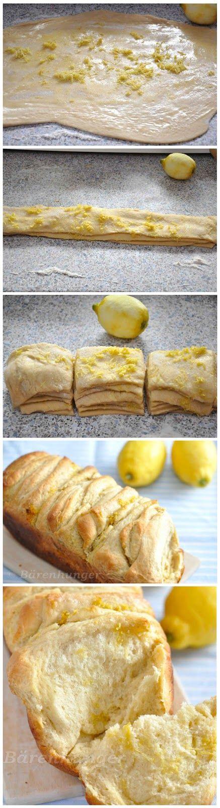 Normal Recipe: Zitronen Pull Apart Bread