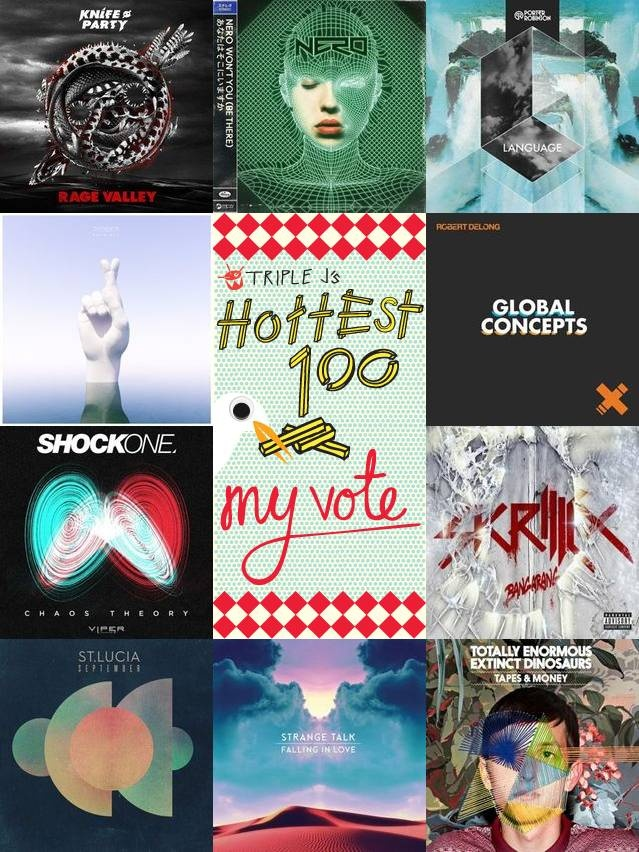 Check out M4t1lda voted for in triple j's Hottest 100 2012