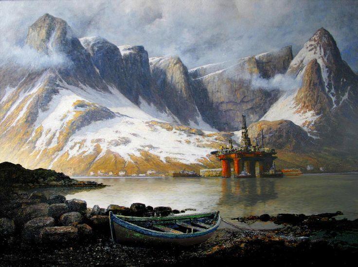 Rolf Groven - Borerigg Lofoten