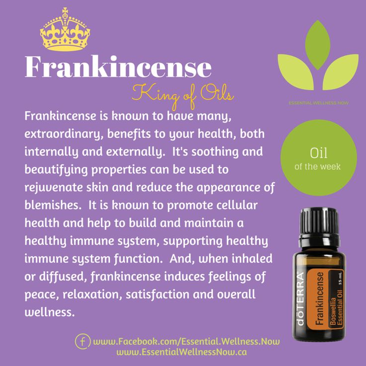 Frankincense Essential Oil Health & Wellness