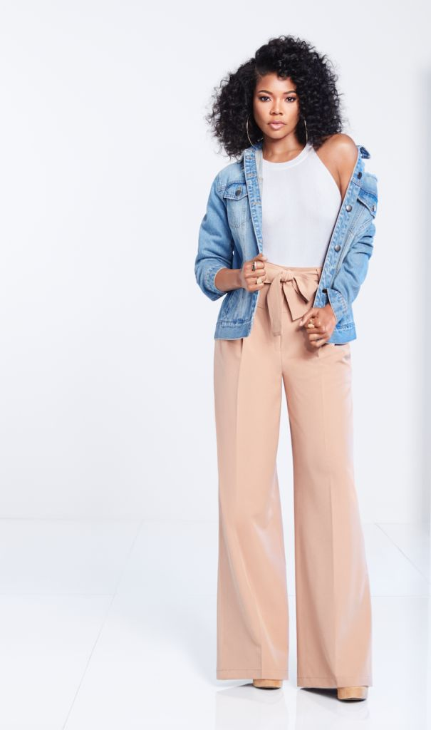 "Gabrielle Union's Collection at New York & Company has a new campaign, #AllTogetherNow, and it features the leading ladies of ""Being Mary Jane"" cast, including the curvy actress, Raven Goodwin!  Gabrielle Union Drops New York & Co Spring Collection With Cool News! http://thecurvyfashionista.com/2018/02/05/gabrielle-union-new-york-co-plus-sizes/"