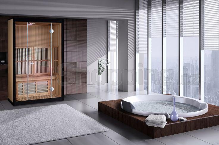 Infra sauna (3 ČÁSTI) Goddess Korfu2 s ionizérem - Goddess Korfu2 s ionizérem (foto 1)