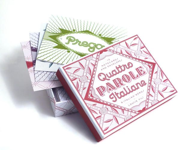 """Louise Fili Notecards Will Make A Late """"Thank You"""" Seem Terribly Elegant   Co.Design   business + design"""