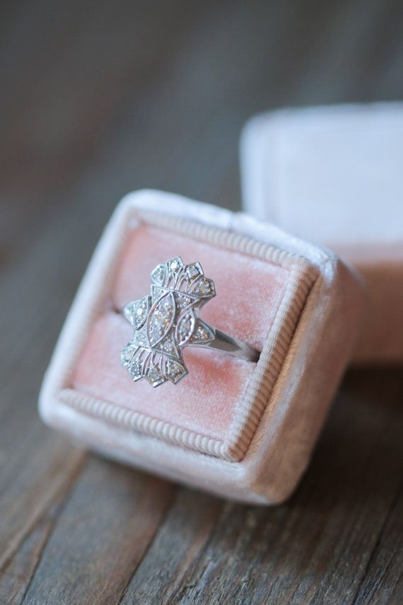 the amulette heirloom collection - a selection of curated vintage engagement rings meant for the one of a kind bride.  ---  • the silver quill