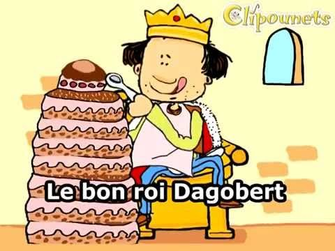 Le bon roi Dagobert - karaoke - Clipounets - YouTube