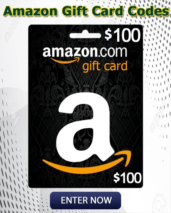 Get Free Amazon Gift Cards To Get This Free 100 Giveaway Click