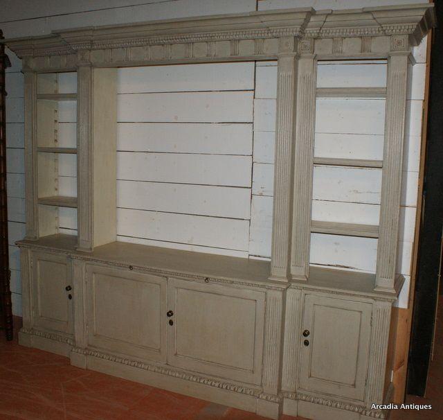 Breakfront Built In Shelves