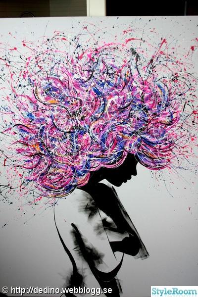 mina tavlor, konst och inredning - Ett inredningsalbum på StyleRoom