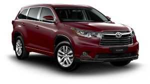 Toyota Kluger GX 2WD in Deep Red