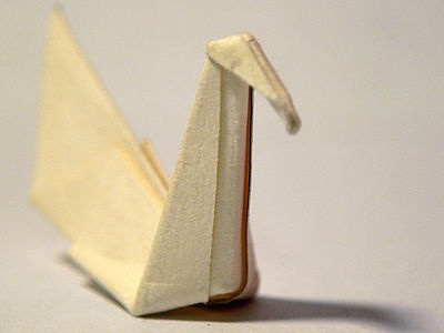 How to Fold a Traditional Origami Swan