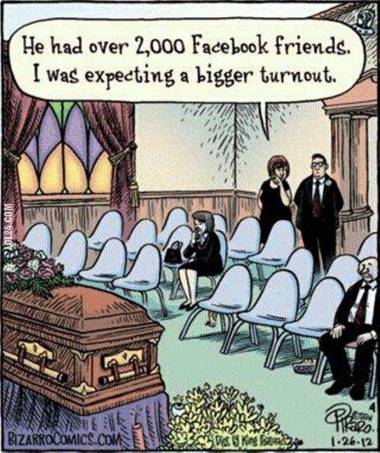 Miał ponad 2000 znajomych na Facebook #miał #ponad #2000 #znajomych #na facebook