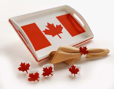 Canada Day Serving Tray