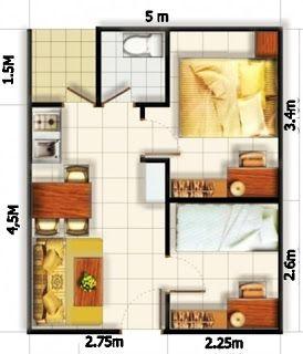 Desain Rumah Minimalis Modern Dengan 3 Kamar - Rumah Minimalis