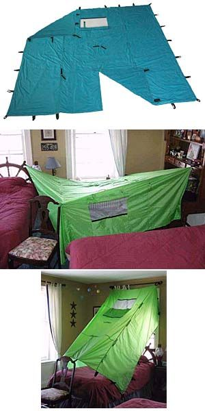how to build a blanket fort without chairs