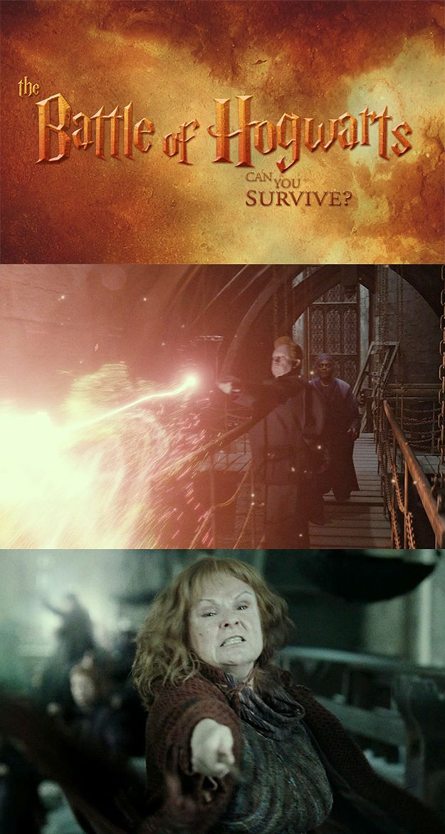 Can You Survive The Battle Of Hogwarts? I SURVIVED