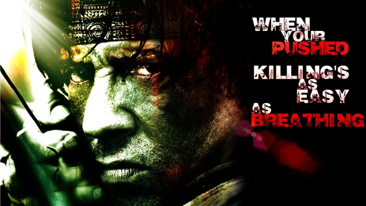 Rambo Quotes Live For Nothing. QuotesGram