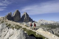 Südtirol: Wandern zu den Drei Zinnen